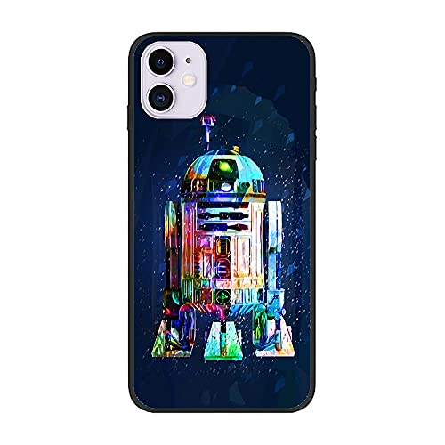 Junic Lightweight Black Coque Soft TPU Rubber Case Shockproof Cover Shell For Apple iPhone 12/12 Pro-Star-Wars Soldier 8