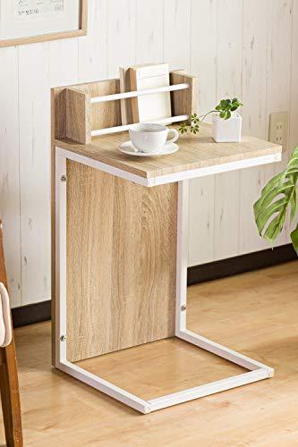 システムK テーブル 縦置き横置き可能な2WAYスタイル 横に置いてセンターテーブル 縦に置いてサイドテーブルに 幅70cmのコンパクトサイズ 熱や水分に強い素材を使用 脚には傷防止付き(ナチュラル色)