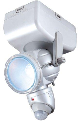ムサシ RITEX 乾電池式LEDセンサーライト 3W LED-80