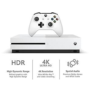 Microsoft Xbox One S 1Tb Console - White [Discontinued]