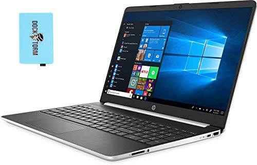 HP 15t 15-dy1771ms-Plus Home and Business Laptop (Intel i7-1065G7 4-Core, 16GB RAM, 512GB PCIe SSD, Intel Iris Plus, 15.6' Touch HD (1366x768), WiFi, Bluetooth, Webcam, Win 10 Pro) with Hub