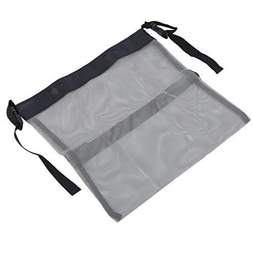 Jeanoko Bolsa de almacenamiento multifunción Cochecito Bolsa de malla Durable para al aire libre para niños (gris)