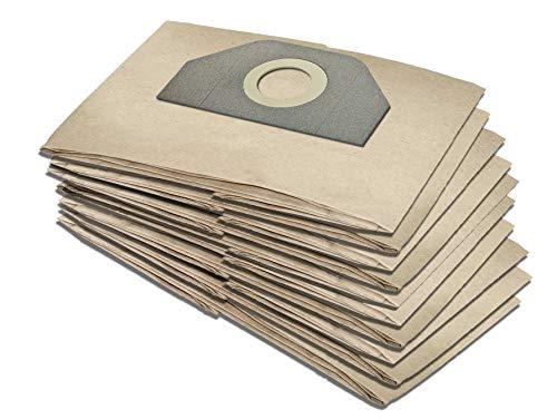 10 Staubsaugerbeutel geeignet für Kärcher 6.959-130.0, für Karcher WD 3.200, WD 3.000, WD 3, 6.959-310, MV 3 (10)