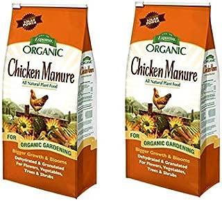 Espoma GM25 Organic 3-2-3 Chicken Manure, 25 lb - 2 Pack