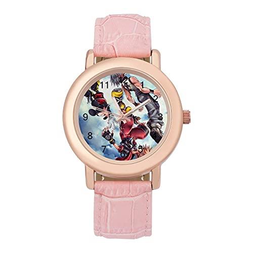 キングダムハーツ3 時計シンプル 腕時計レディース レディース腕時計 おしゃれ クラシック 女性 時計 リストバンド型 腕時計 レディースウォッチ シンプル おしゃれ 彼女へのプレゼント