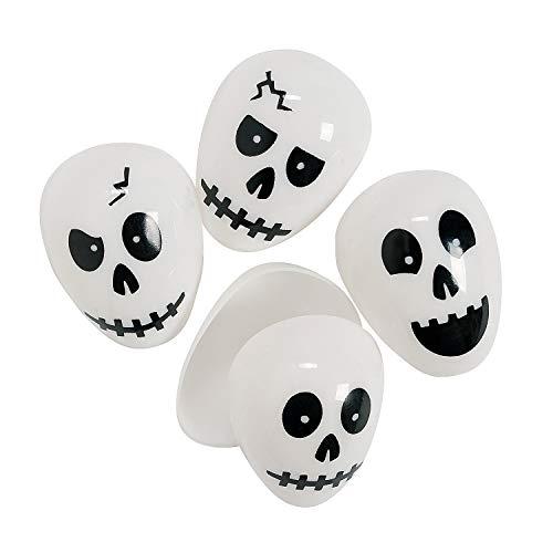 Halloween Skull Easter Eggs (set of 72) Halloween Party Supplies