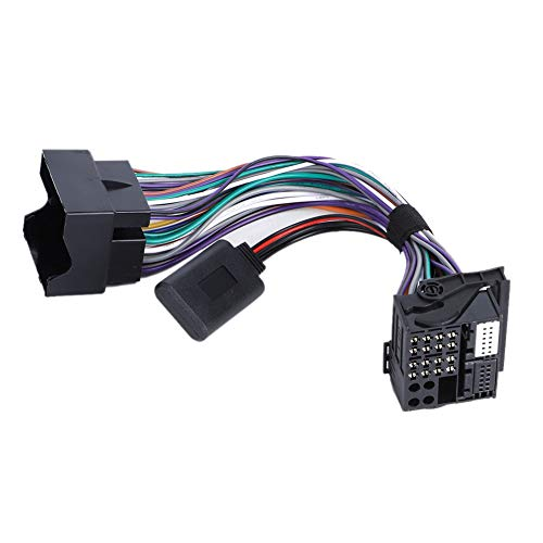 Adaptador de arnés de cables de radio estéreo para coche, conector de transmisión de audio Bluetooth para Fo-rd Fiesta Kuga Mondeo 5000C 6000CD para Sony