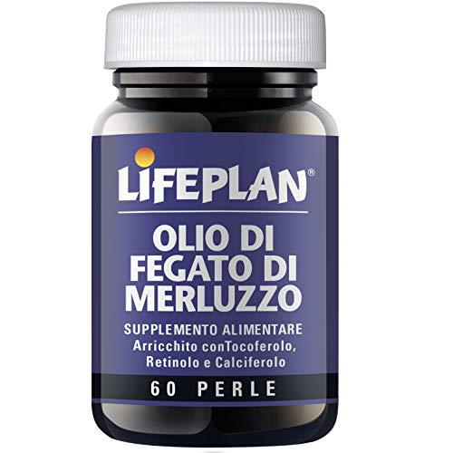 LifePlan Olio Di Fegato Merluzzo Integratore Alimentare 60 Perle