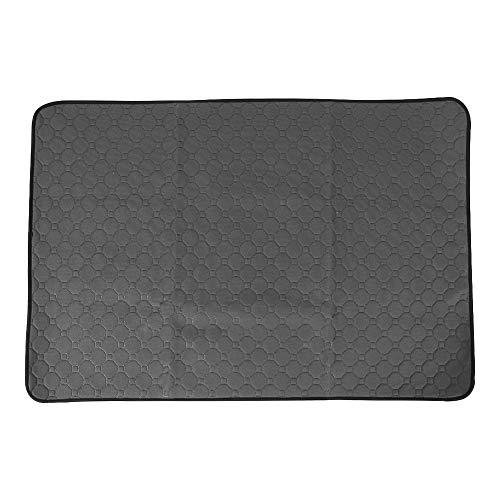 Obstschale Waschbare Wickelauflage Für Haustiere Und Katzen, Wiederverwendbare Bettpfannen-Wickelauflage, Wickelbett-Sofabezug (grau L)