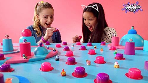 Bandai - Poppops - Starter Pack met 6 pops Pets - 6 roze Slime Bubbles voor het verspillen en 2 verrassingsfiguren om te verzamelen - knutselen - kneedmassa - YL07109