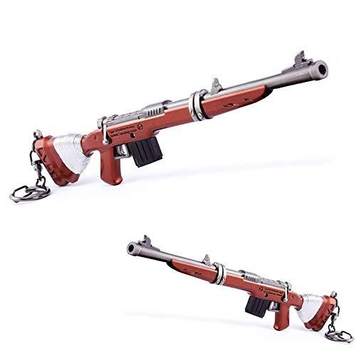 Jeu Accessoires Modèle 1/6 Fusil de Chasse Collection Boucle de clé Cadeau