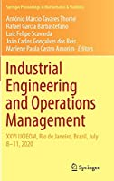 Industrial Engineering and Operations Management: XXVI IJCIEOM, Rio de Janeiro, Brazil, July 8–11, 2020 (Springer Proceedings in Mathematics & Statistics, 337)