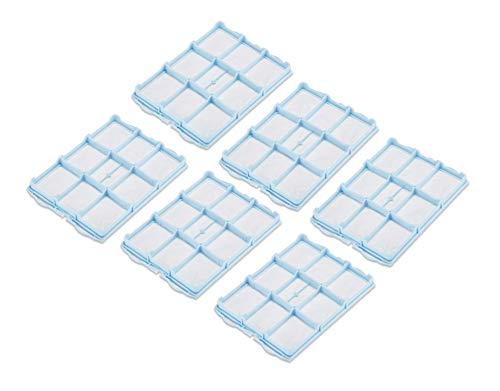 Supremery 6X Filter Set geeignet für Siemens VS04,VS5A/E, VS06, VSZ3, VSZ4, VSQ4, VS08, VSZ5, VSQ5 Staubsauger, Alternative für Siemens VZ01MSF Motorschutzfilter, Ersatzteil Filter