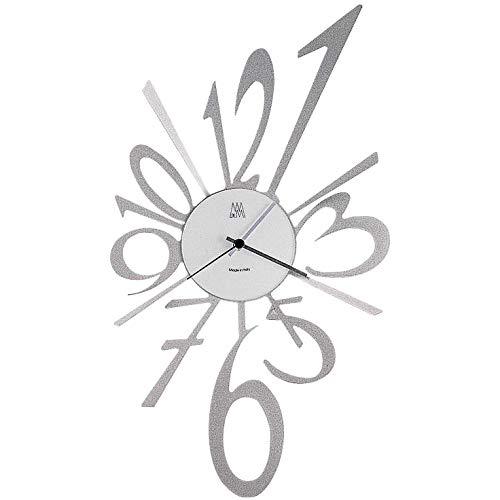 ARTI E MESTIERI horloge murale BIG BIG-BANG (Aluminium - Métal et verre)