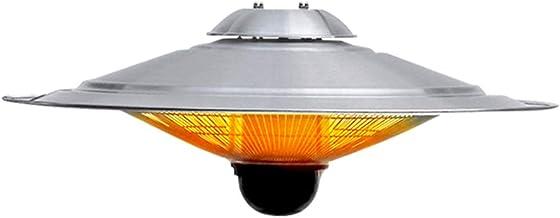 Heater Calefactor por Infrarrojos Radiante,Calentadores de Exterior con Mando a Distancia,IP44 A Prueba de Agua,3s Calor Rápido,3 Configuraciones de Calor,Colgando Calentador Eléctrico