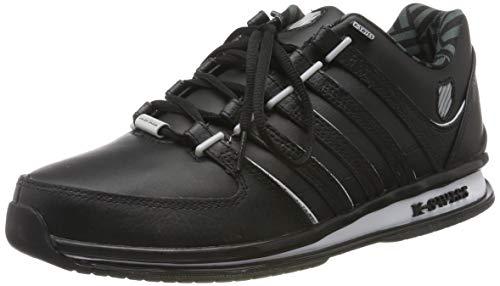 K-Swiss Herren Rinzler SP Sneaker, Schwarz (Black/Gray Violet/White 046), 46 EU