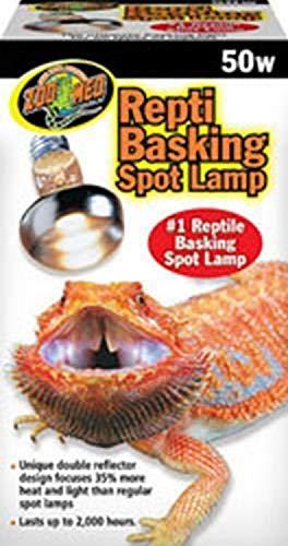Zoo Med Repti Basking Lamp 50 Watt for Reptiles