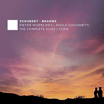 F. Schubert & J. Brahms: The Complete Duos - Coda