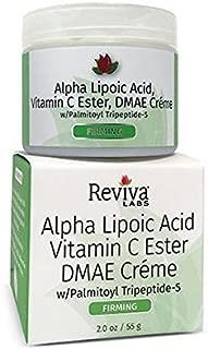 Reviva Labs Alpha Lipoic Acid, Vit C Ester & DMAE Cream