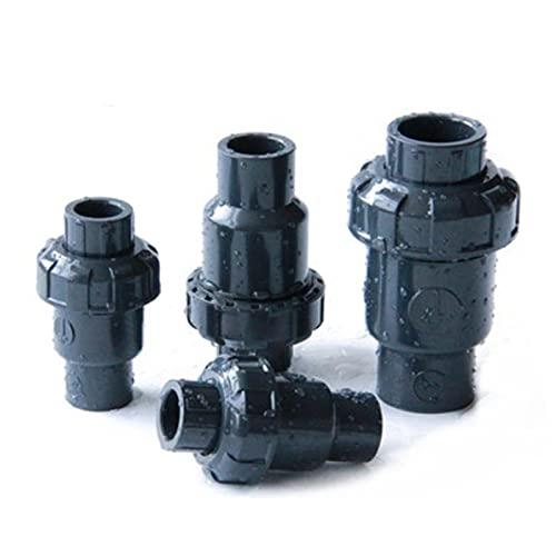 Válvula de ducha Válvula de no retorno de PVC 50 mm Flap de plástico interior COMPROBACIÓN DN25 DN32 DN40 DN50 Válvula vertical universal Horizontal para la manguera (Specification : DN15)