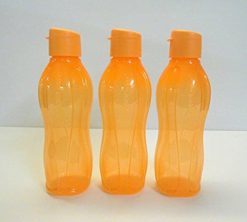 TW1000 Tupperware Eco 750ml botella ökoflasche EcoEasy (3), color naranja
