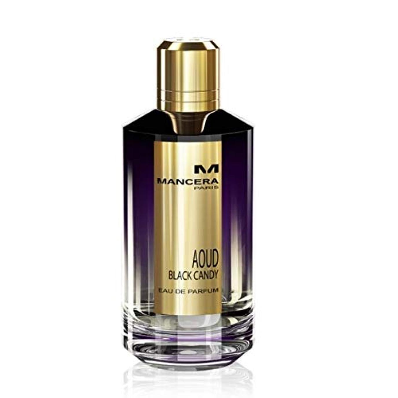 効能あるリンク彫刻家Mancera Aoud Black Candy Eau de Parfum 2.1 oz./60 ml New in Box