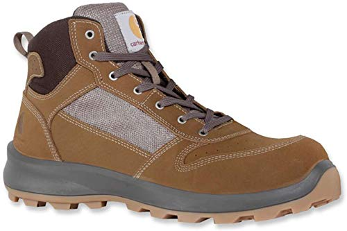 Carhartt Unisex Michigan Sneaker MID Construction Boot, Brown, 41 EU