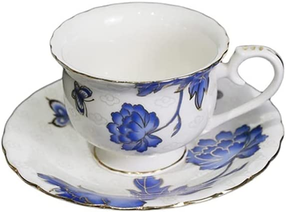 XDYNJYNL Vintage Porcelain Coffee Mug and 190ml Super Special SALE held Ranking TOP5 Saucer H 6.42oz