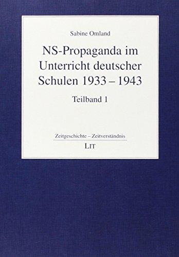 NS-Propaganda im Unterricht deutscher Schulen 1933-1943. Die nationalsozialistische Schülerzeitschrift