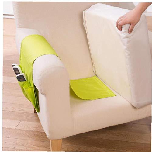 BYFRI Sofa Armlehne TV-Fernbedienung-Organisator-Halter 4 Taschen Stuhl Couch Mobiltelefone Magazin Aufbewahrungstasche