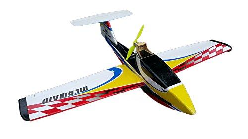 Arkai Mermaid - Avión de agua y deslizamiento para césped (madera contrachapada, reforzado con ABS, 1200 mm)