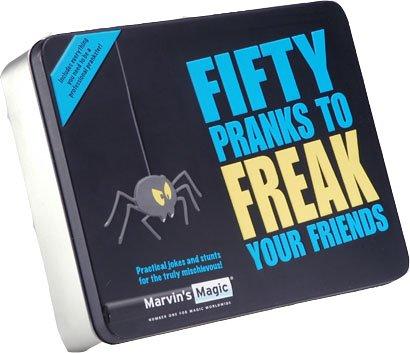 Marvin 's Magic vijftig grappig voor freak vrienden praktische grappige en trucset voor kinderen en volwassenen – professionele magic gemakkelijk gemaakt