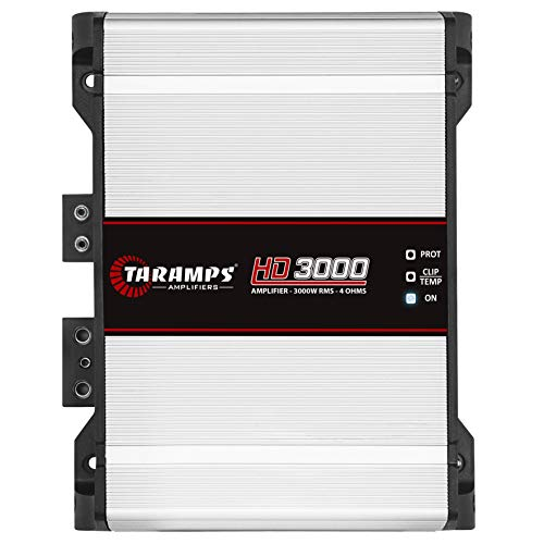 Módulo Taramps HD 3000 4 ohms 3000 W RMS Amplificador Som Automotivo