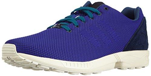 adidas Zx Flux Weave, Unisex-Erwachsene Sneakers, Blau (Dark Blue/Night Flash S15/Rich Blue F14), 38 EU (5 Erwachsene UK)