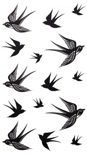 Speed YLE waterdicht niet giftig tijdelijke tatoeage stickers nieuwe release ontwerpen tijdelijke tatoeage waterdicht slokken tijdelijke tatoeages