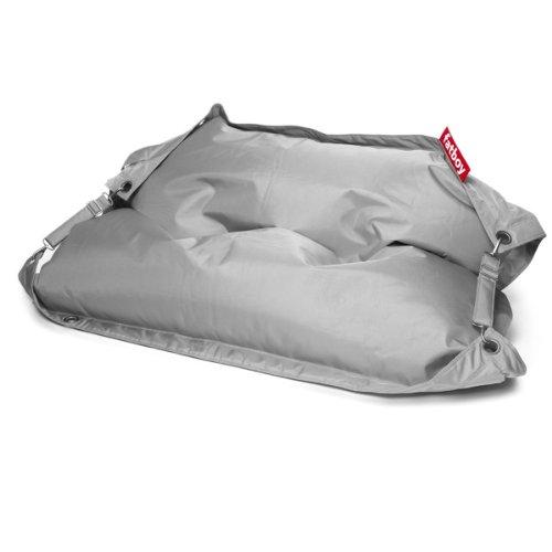 Fatboy® Buggle-Up lichtgrau | Polyester-Sitzsack für draußen | Loungesessel im Outdoor-Bereich | 185 x 137 cm