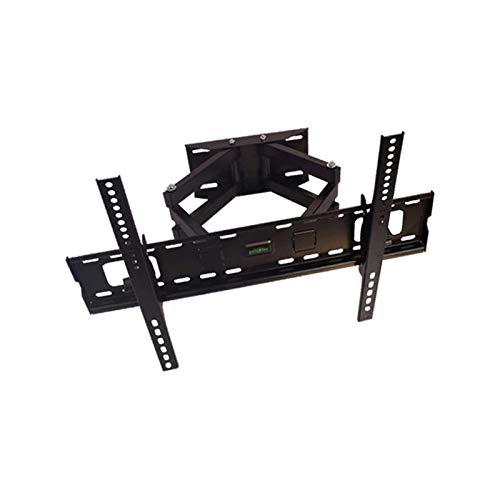 Soporte tv suelo Soporte de montaje en pared de TV con articulación de doble brazos osos, montaje para la mayoría de los televisores de pantalla plana de 26-55 pulgadas, hasta Vesa 400x400mm y 110 lib