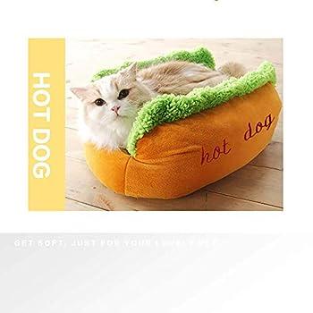 Ultra-léger et vitesse rapide cadre bas Torq de ca Couchette, Hot Kennel Pet Nest Automne chien Lit for chat Thicken Puppy lits avec amovible confortable tapis en peluche matelas idéal for les petits