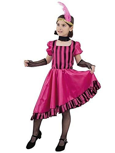 DISBACANAL Disfraz Can Can niña - -, 8 años