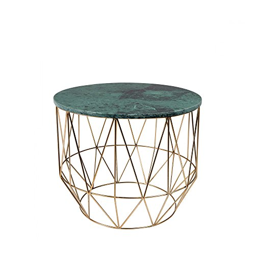 Zuiver Beistelltisch Boss Dutchbone Marmor – Farbe – Grün