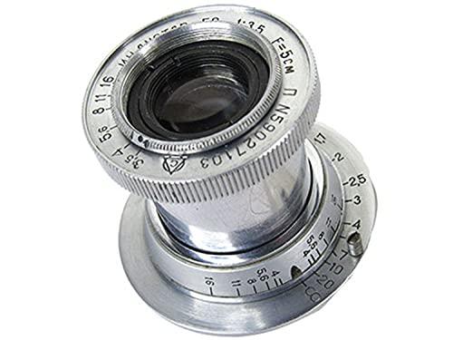 ※オールドレンズ※INDUSTAR-50 50mm/f3.5 沈胴式 Lマウント オーバーホール済