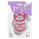 CURAPROX Baby Schnuller, rosa Schnuller, mit Aufbewahrungsbox, Größe 2; 10 bis 14kg bzw. 18-36 Monate, Pacifier, Soothie, rosa, 2 Stück, 32 g