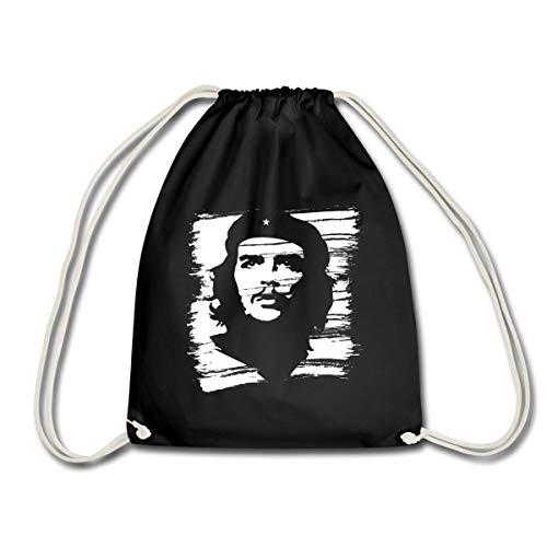 Spreadshirt Che Guevara Porträt Gezeichnet Turnbeutel, Schwarz