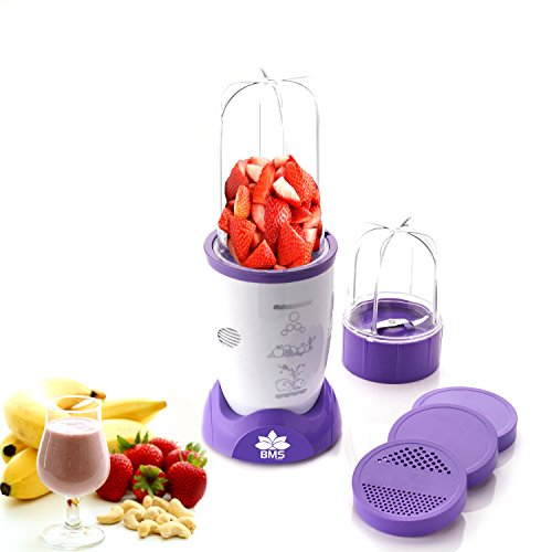 BMS Nutri 400Watt High-Speed Juicer Smoothies Maker Multi-Function Crusher for Fruits Vegetables...