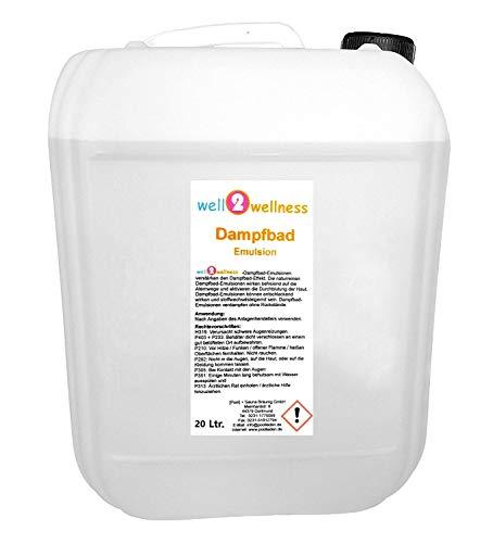 Well2wellness® Aroma de Emulsión 20L Bidón - más de 160 Fragancias para Libre Elección