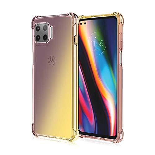 GOGME para Motorola Moto G 5G Funda, Funda Gradiente Transparente TPU, Carcasa...