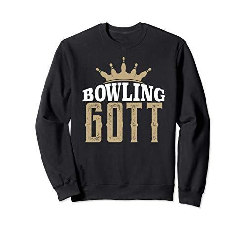 Bowling Gott Bester Bowlingspieler Geschenk Bowler Sweatshirt