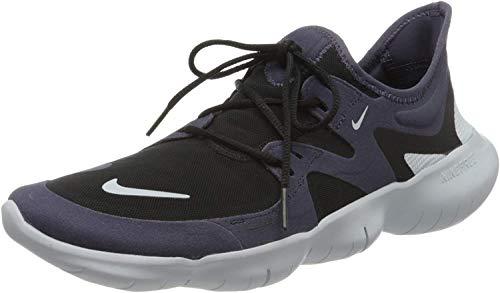 Nike Herren Free RN 5.0 Running Shoe, Dark Raisin/Aura-Black, 43 EU