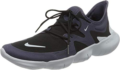 Nike Mens Free RN 5.0 Running Shoe, Dark Raisin/Aura-Black, 43 EU