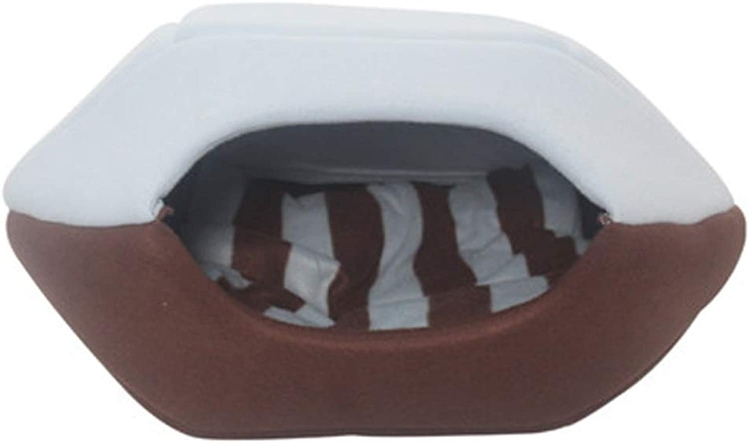 Dogs Beds Furniture Bed Blankets Dog House, Yurt, Cat House, Cat's Nest, Four Seasons, Closed, Warm, Cat Sleeping Bag, Pet Nest, Cat Bed, Pet Supplies (color   Brown, Size   L)